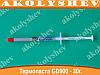 Термопаста GD900 термо-паста в шприце 1г
