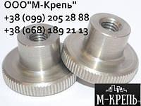 Гайка М2.5 DIN 466 нажимная высокая, нержавеющая