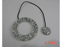 Магнит Arya Big Ring Shell Светло-Серый AR-9001203