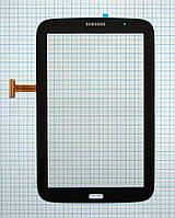 Тачскрин сенсорное стекло для Samsung N5100/N5113 Galaxy Note 8 black (3G ver.)