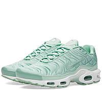 Оригинальные  кроссовки Nike W Air Max Plus SE Enamel Green & White