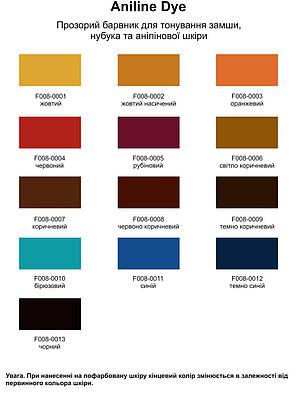 """Краска для замши 40 мм.""""Dr.Leather"""" Aniline Dye ярко-синий, фото 2"""