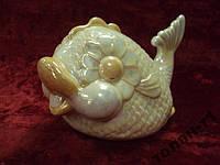 Фарфоровая фигурка Рыба рыбка авторская