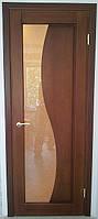 Двери межкомнатные деревянные. Коллекция модерн. Модель ВОЛНА