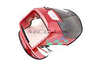 Обтекатель на мотоцикл универсальный (красный) (mod:CG)