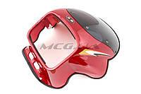 Обтекатель на мотоцикл универсальный (красный) (mod:YBR-К-02)
