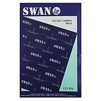 """Бумага копировальная (копирка) 100л.""""SWAN""""  А4 синяя"""