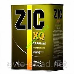 Масло ZIC XQ 5W-40 4л (синтетичне)