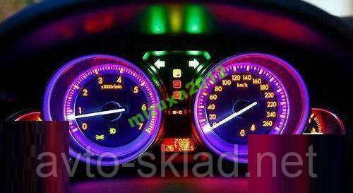 Подсветка приборов и т.д 4 шт T5 Т10 все цвета