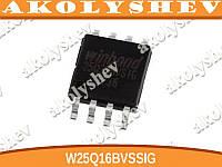Микросхема W25Q16BVSSIG W25Q16 W25Q16B