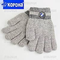 Двухслойные перчатки для мальчика E5207S-4