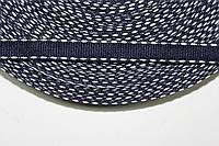 ТЖ 10мм (50м) т.синий+белый , фото 1