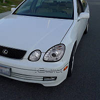 Фары с LED и ангельскими глазками для Lexus GS300/GS400 1998-2005