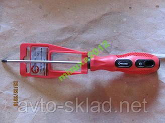 Отвертка крестовая  3*100 мм INTERTOOL VT-3154
