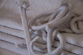 Керамические шнуры,ткани,набивки