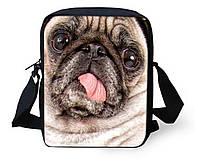"""Стильная 3D сумка """"Собачка""""."""
