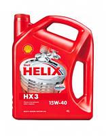 Моторное масло Shell Helix HX3 15W40 4L ( API SJ/CF ) минералка