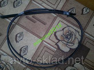 Водосток (удочки) ВАЗ 21099  2 шт. 200,7 см черные