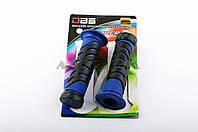 """Ручки руля на мототехнику   """"DBS""""   (mod:2, синие)"""