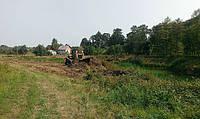 Земляные работы бульдозером