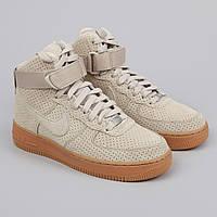 Кроссовки Nike Air Force 1 Hi Suede String/String мужские