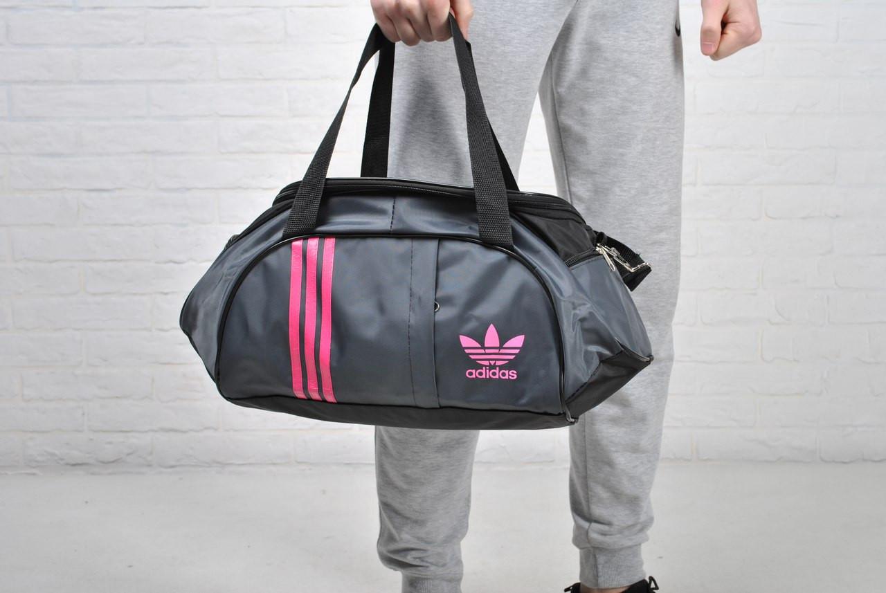 18a9245533c6 Женская спортивная сумка адидас (Adidas), серая: 240 грн. - Сумки ...