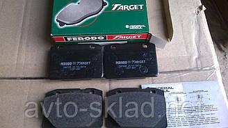 Колодки перед гальмівна 2101-2107 FERODO зелен к-т