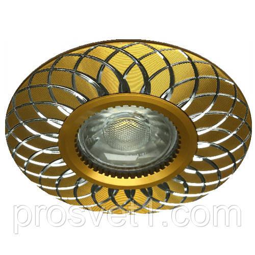 Встраиваемый светильник Feron GS-M888 золото