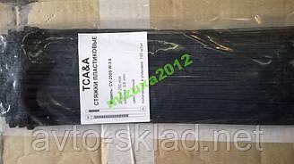 Хомути пластикові 250х3,6 (100 шт) чорні CV-250М