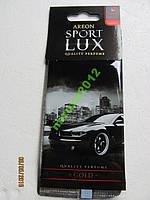 Ароматизатор Lux SPORT парус GOLD (освежитель)