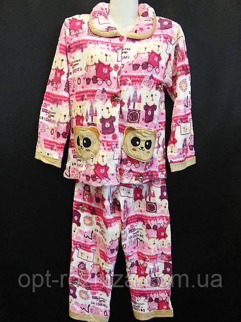 Купить пижамы детские махровые оптом