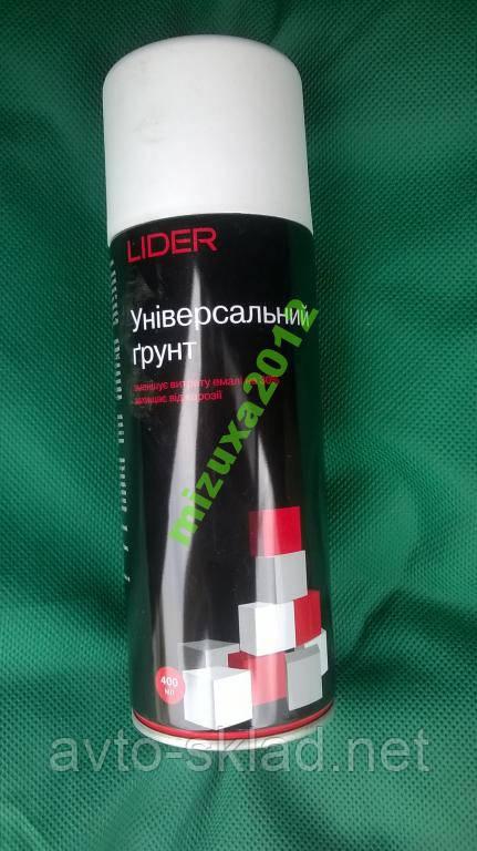 Грунт універсальний LIDER білий 400г під всі види