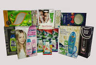 Изготовление цветных брендированных упаковок из картона