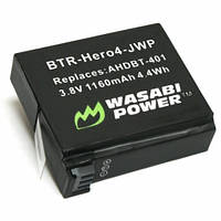 Аккумулятор Wasabi Power для GoPro Hero 4