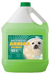 Антифриз Аляска Long-Life G12+ -40С зеленый 1 кг