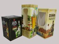 Производство упаковок под бокалы пива из картона