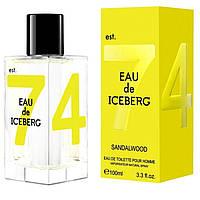 Eau de Iceberg Sandalwood Iceberg для мужчин туалетная вода