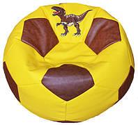 Кресло мяч пуф с вышивкой бескаркасное кресло мебель
