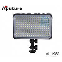 Накамерне світлодіодний світло Aputure Amaran AL-198A, 5500K (3200K/фільтр).