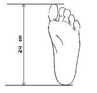 Как определить свой правильный размер обуви.