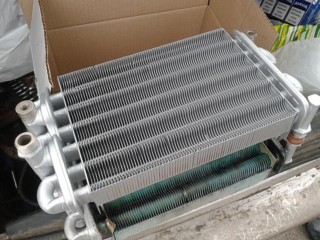Теплообменник к котлу термона купить Полусварной пластинчатый теплообменник Sondex SW189 Чайковский