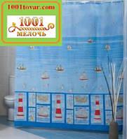 "Шторка для ванной комнаты ""Sea Life"", Miranda. Производство Турция, фото 1"