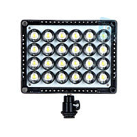 Накамерне світлодіодний світло Wansen W24, 5600K (3200K/фільтр)