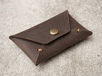 "Карт холдер ""Envelope brown2"", тёмно-коричневый, фото 1"