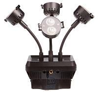 Накамерный светодиодный свет Shoot XT-4, 6300K (3200K/фильтр).