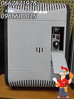 Газовый чугунный турецкий парапетный конвектор Демрад 3 кВт с вентилятором