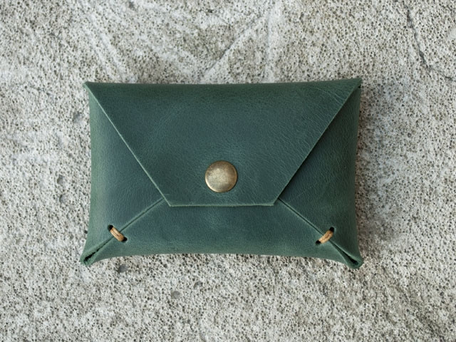 "Карт холдер ""Envelope green2"", зелёный"