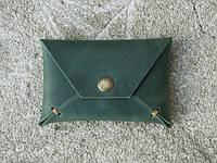 "Карт холдер ""Envelope green2"", зелёный, фото 1"