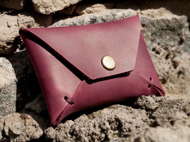 "Карт холдер ""Envelope vinous2"", бордовый"