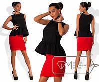 """Стильный молодежный костюм """" Топ и юбка """" Dress Code, фото 1"""